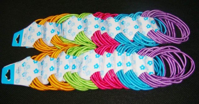 100pcs Hair Ties Simple Style Elastic Headbands-Free Shipping