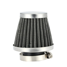 Double Layer Steel Filter Gauze Universal Motorcycle Motorbike Clamp-on Air Filter 46mm Mushroom for Scooter Minibike ATV(China (Mainland))