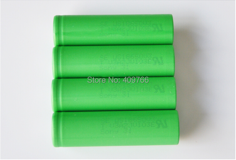 New US18650V3 3.7v 2250mAh li-on battery high discharge current 18650 10A Sony rechargeable batteries e-cigarette