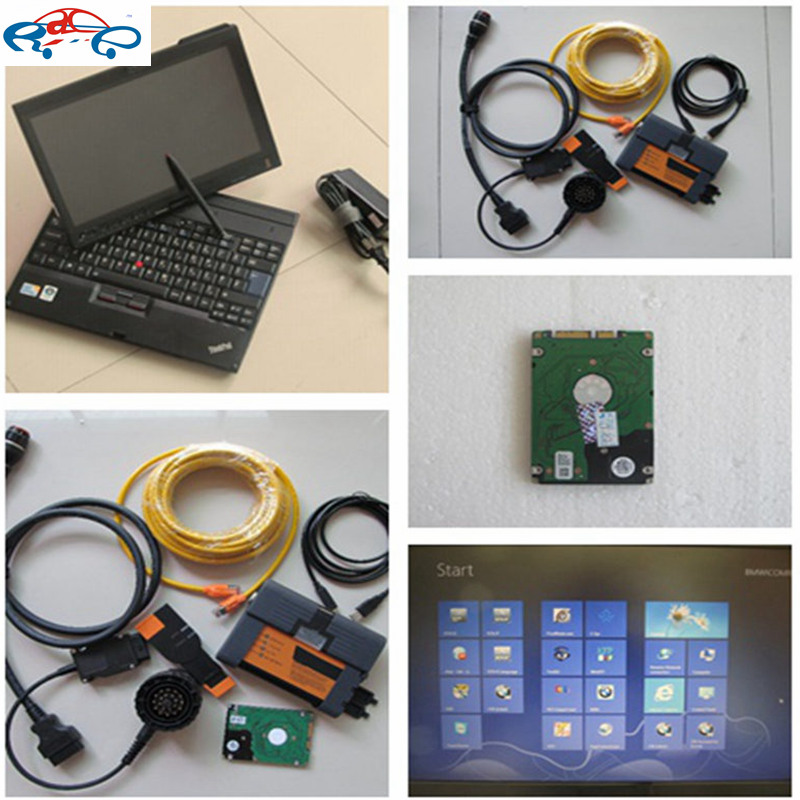 2016 For BMW ICOM A2 B C with software Full Set ISTA 2015.12 Best Quality Diagnostic Tool (Software is Optional)+ Laptop X200t(China (Mainland))