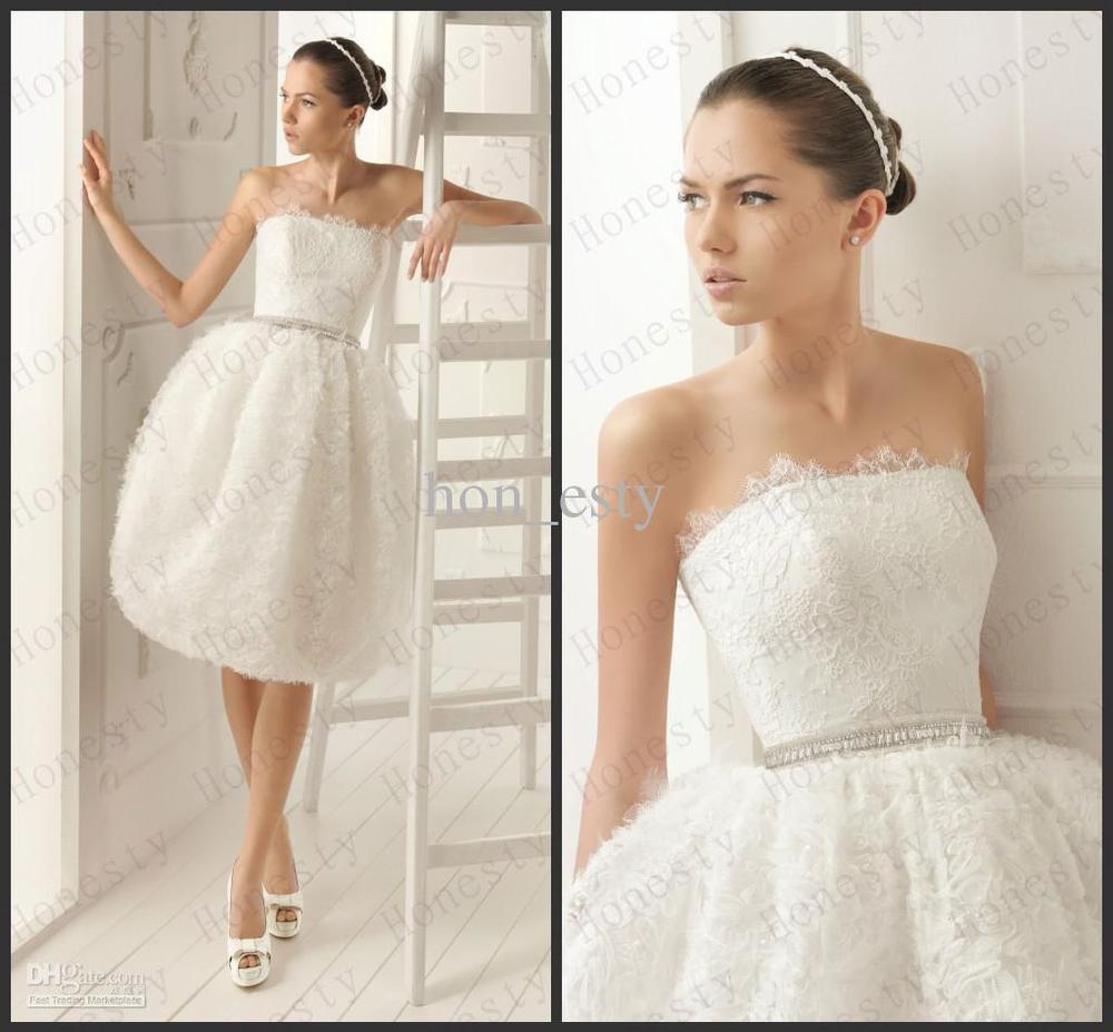 free shipping length wedding dresses