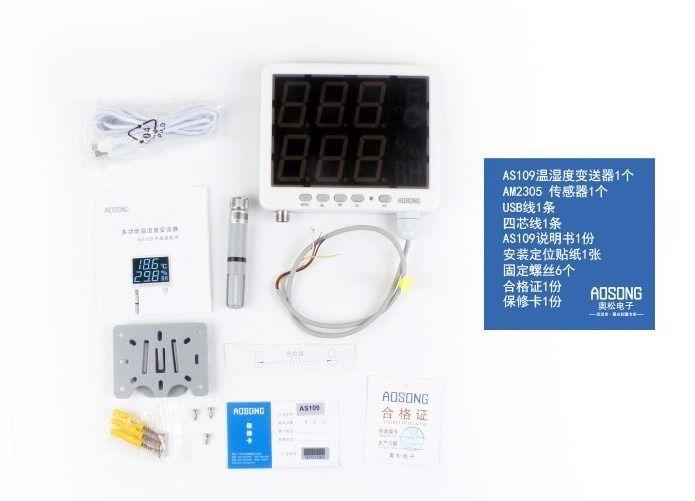 AS109 Temperature Humidity Sensor RS485 LED Temperature Humidity Indicator<br><br>Aliexpress