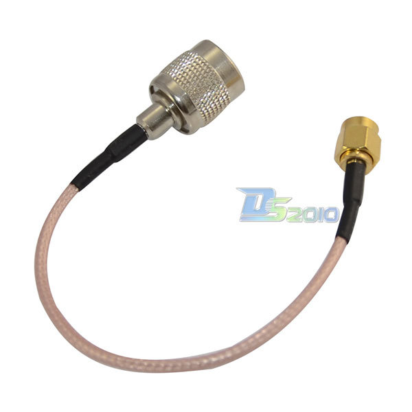 High Quality15cm RP TNC male to sma male plug RF Antenna jumper pigtail Cable RG316(China (Mainland))