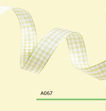3/16″ Inch 0.5cm tartan plaid ribbon