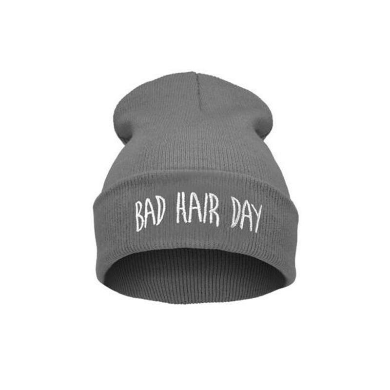 Hotsale Unisex Beanie Knit Cap Bad Hair Day Beanie Hip Hop Colorful Knit Hat(China (Mainland))