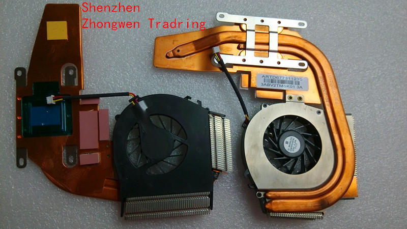 Genuine New Free Shipping Laptop CPU Fan with Heatsink For IBM Lenovo Thinkpad Z61T Z60T 26R9554 UDQFRPH34FQU(China (Mainland))