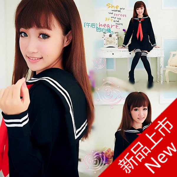 British style womens preppystyle student uniform school uniform set long-sleeve pleated skirtОдежда и ак�е��уары<br><br><br>Aliexpress