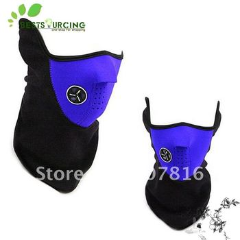 Freeshipping special offer 20pcs Blue Bike Motorcycle Ski Snow Snowboard Sport Neck Winter Warmer Face Mask