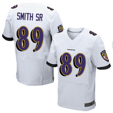 Men's #89 Steve Smith Sr Sr Elite White Football Jersey 100% stitched(China (Mainland))