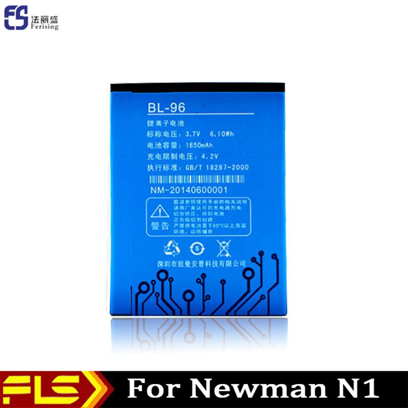 In stock 1650MAh 3.7V Li-ion Original mobile phone battery For Newman newsmy N1 BL-96 Batterie Batterij Bateria(China (Mainland))