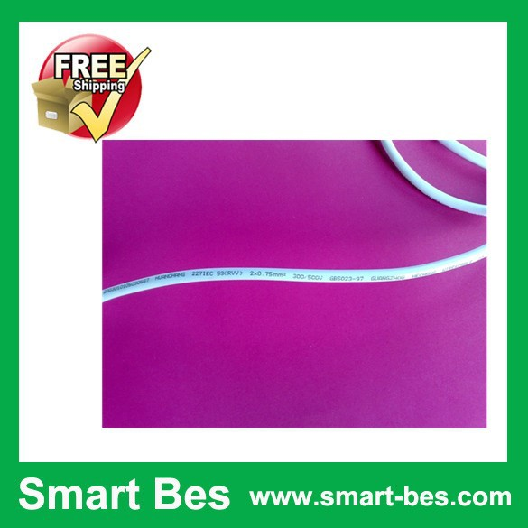 Free shipping ~Smart Bes!!20pcs/lot  power cord 227 ICE 53 (RVV) 2 * 0.75 square  1.58  meters electrical wires<br><br>Aliexpress