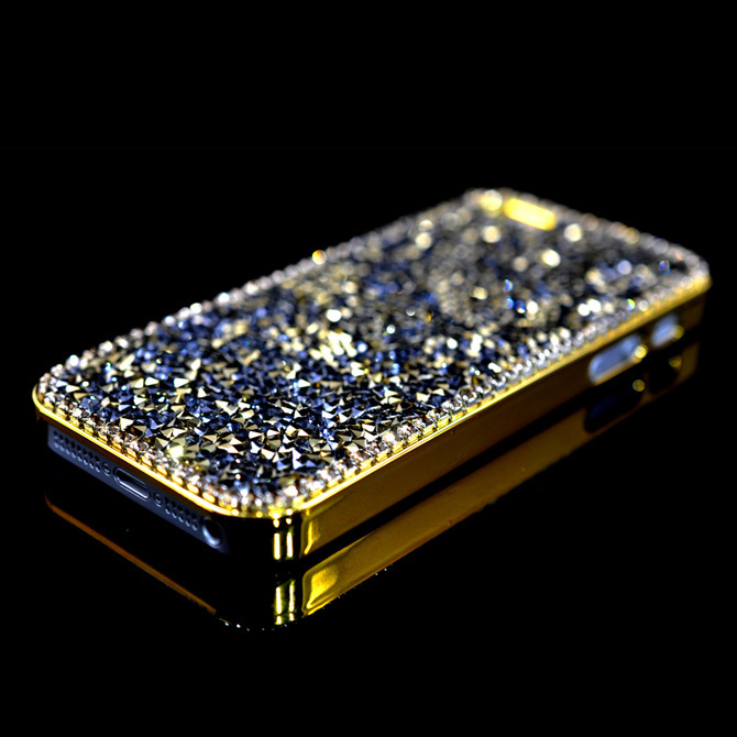 "New modern 5.5"" durable slim Hot Luxury Diamond Flashing Cell Phone Cases Covers for apple iphone 6 plus phone cases & covers(China (Mainland))"