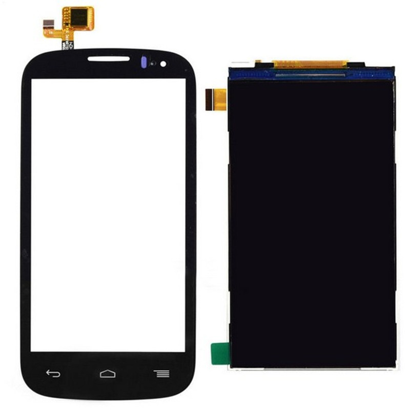 for Alcatel One Touch Pop C5 OT-5036 5036D 5036A LCD Display Panel Screen Monitor + Black Touch Screen Digitizer Glass Sensor(China (Mainland))