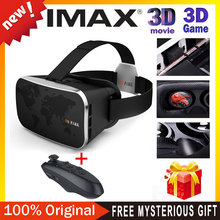 2016 VR BOX 4.0 Virtual Reality 3D Glasses Google Cardboard VR SHIINECON Oculus Drift + black wireless smart  bluetooth gamepad