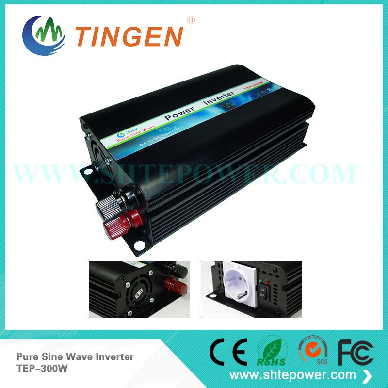 300w power inverter ,12v 24v dc to ac 100v 240v pure sine off grid tie inverter(China (Mainland))