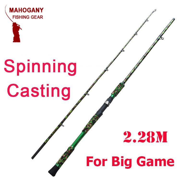 New baitcasting rod fishing rod spinning super hard for Big game fishing rods