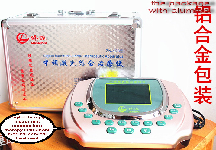 Digital therapy instrument acupuncture therapy instrument medical cervical treatment instrument lumbar therapeutic apparatus