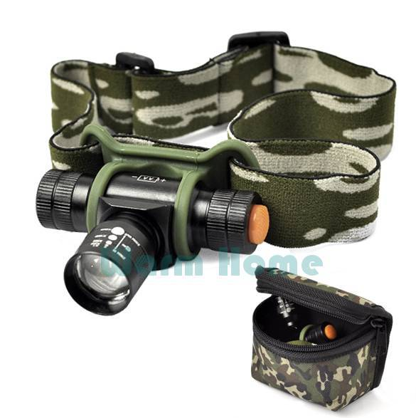 Top Quality!!New Zoomable LED Headlight Headlamp 3 Modes 300LM CREE Q5 LED Head Lamp With Bag TK0219 3F(China (Mainland))