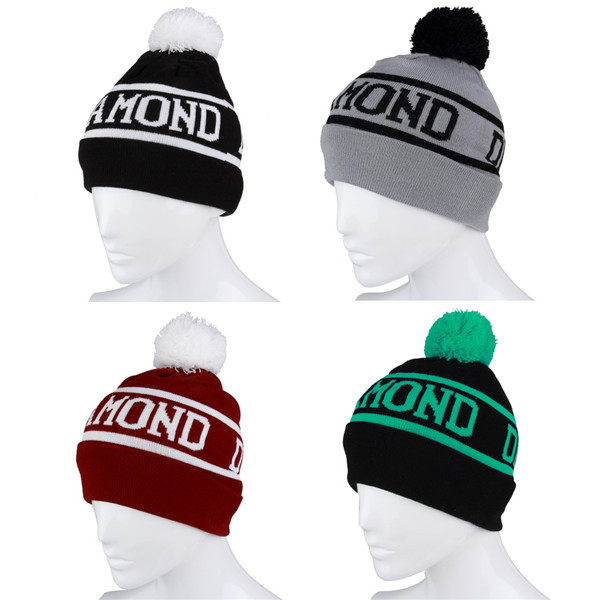 1pc Beanie Pompon Hat Sport Caps Men Hat Beanies Knitted Winter Hats For Men And Women Bonnet Gorro Invierno Skullies(China (Mainland))