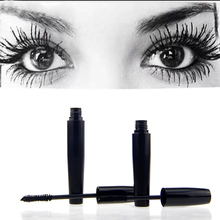 Top brand 3d fibra lashes mascara rimel trucco set di alta qualità 1 set = 2 pz ciglio waterproof mascara doppio(China (Mainland))