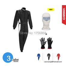 Hot Selling 2 layers fire retardant fabric FIA Kart Racing Suit / Racing gloves / Racing mask Factory directly wholesale(China (Mainland))