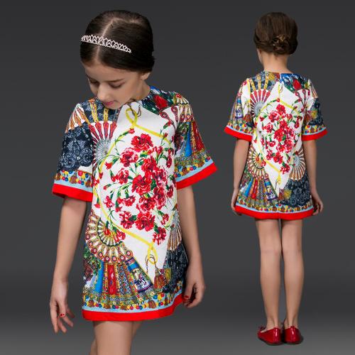Платье для девочек Famous brand  HYF-DS04-6 недорого