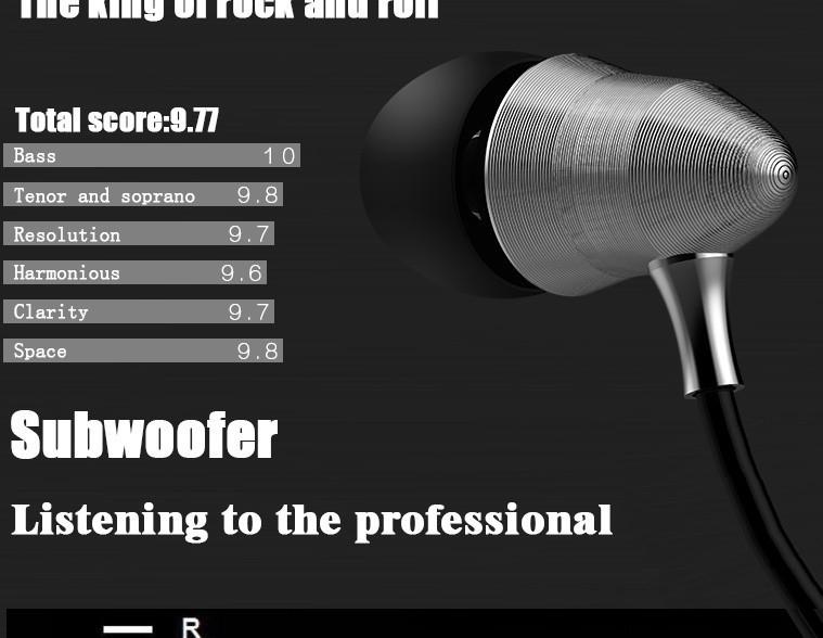 KZ X6 Super Bass Headphones Professional Monitoring Headphones HIFI headsets DJ Earphones Universal 3.5MM Headphone (6)