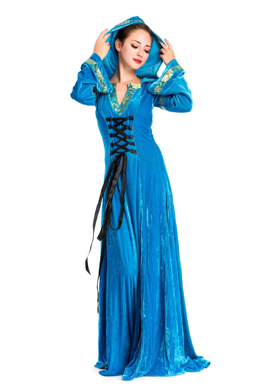 Queen Long Dress Halloween