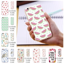 Watermelon Plants Flower Art Print Cover Case For iPhone 6 6S/6 Plus/5 5S SE 5C 4S For Samsung Galaxy S7/S6/S5/Edge/Note 5 4 3(China (Mainland))