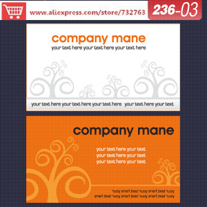 0236-03 business card template for wholesale paper suppliers business card dimensions name card design template<br><br>Aliexpress