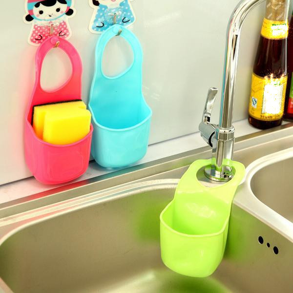Creative Folding Hanging Plastic Bathroom kitchen Gadget storage Box Silicone Storage Bag boite de rangement Free Shipping(China (Mainland))