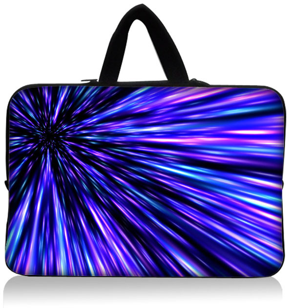 The trend of men and women 10'' 10.1'' Inch Soft Neoprene Laptop Sleeve Carry Bag Case Pouch + Hide Handle Tablet PC Wholesale(China (Mainland))