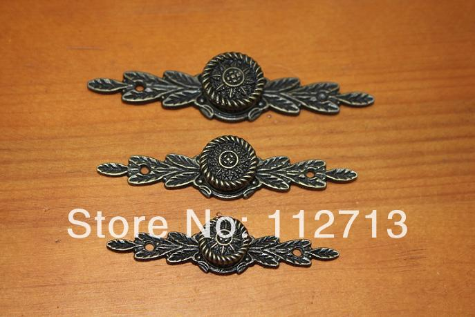 mueble zapatero long handle 74 MM alloy handle drawer pulls jewelry box handle antique handle furniture(China (Mainland))