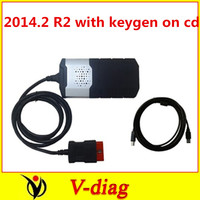 without Bluetooth! ds150 DS150E new vci for TCS CDP PRO plus DHL 2014.2 with keygen on cd for autocom