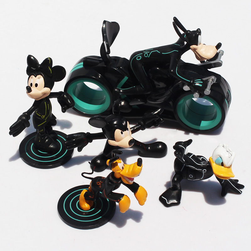 DHL 50Sets/lot Mickey &amp; Minnie PVC Figures Donald Duck Figure Doll Toys 6~13CM Wholesale Free Shipping<br><br>Aliexpress