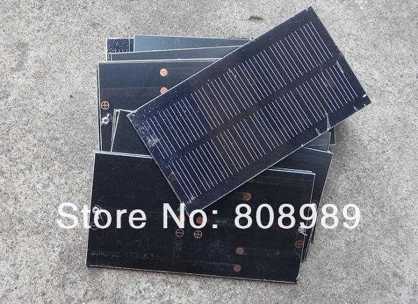 Wholesale! MonoCrystalline 5.5v 0.8w Solar Cell Solar panel Solar Module Laminate PET Solar Cells 40pcs/lot Free shipping(China (Mainland))