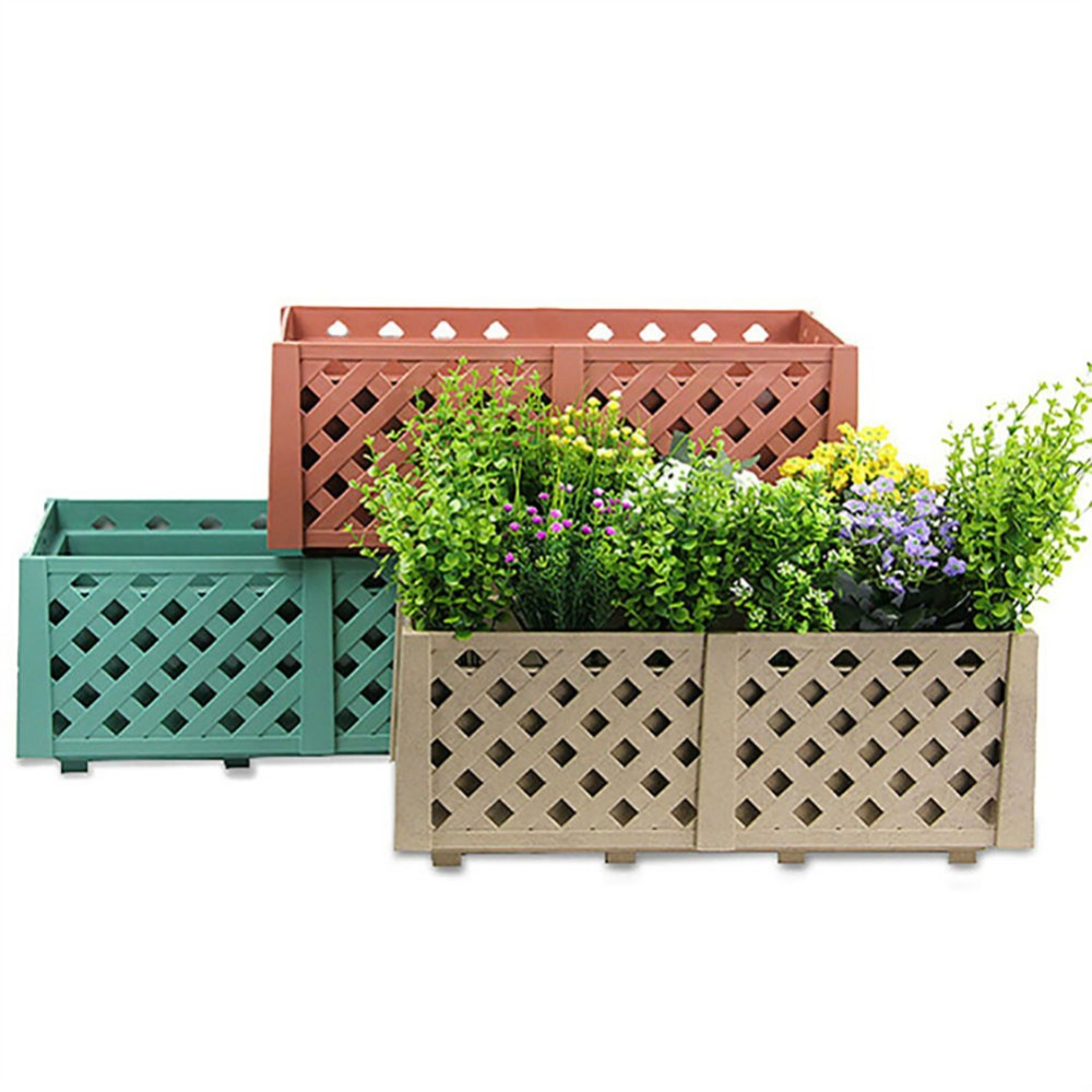 Popular plastic rectangular planter buy cheap plastic - Maceteros rectangulares grandes ...