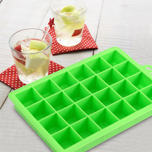 Buy Creative DIY Big Ice Cube Mold 24 Holes Square Shape Silicone Ice Tray Fruit Ice Cube Maker Bar Kitchen Accessories 2 Color for $3.94 in AliExpress store
