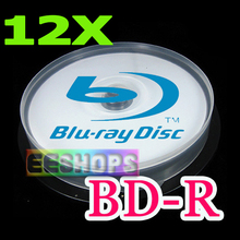 Best Cheap 25GB 25 GB BD-R DL Blu-ray Recordable Blank Disc 6X Blue-ray Printable 130 Min Optical disc Lot 25pcs Spindle Pack(Hong Kong)