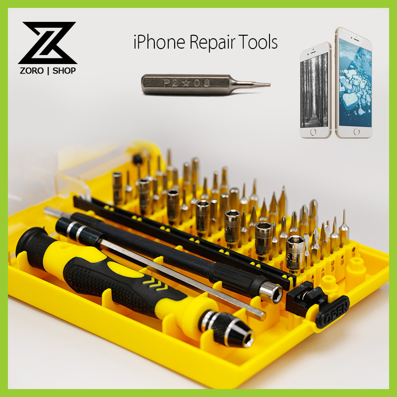 9002 Magnetic Screwdriver 45 In 1 Sets Precision Screw Driver Tools Kit Torx For Phones Repair(China (Mainland))