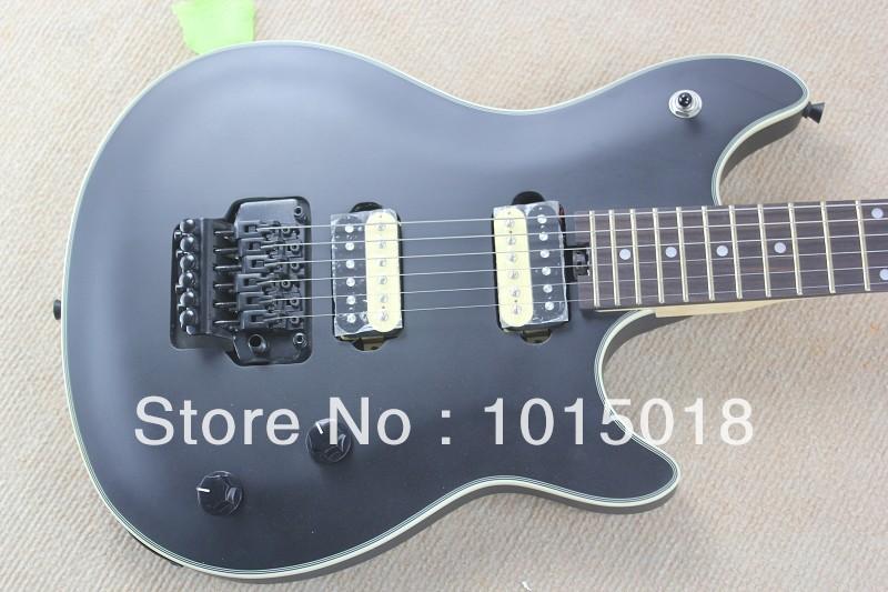 2015 Hot Selling Custom Shop Guitar Rosewood EVH Wolfgang Black 6 Strings Electric Guitar Wholeasle Price xiexie(China (Mainland))
