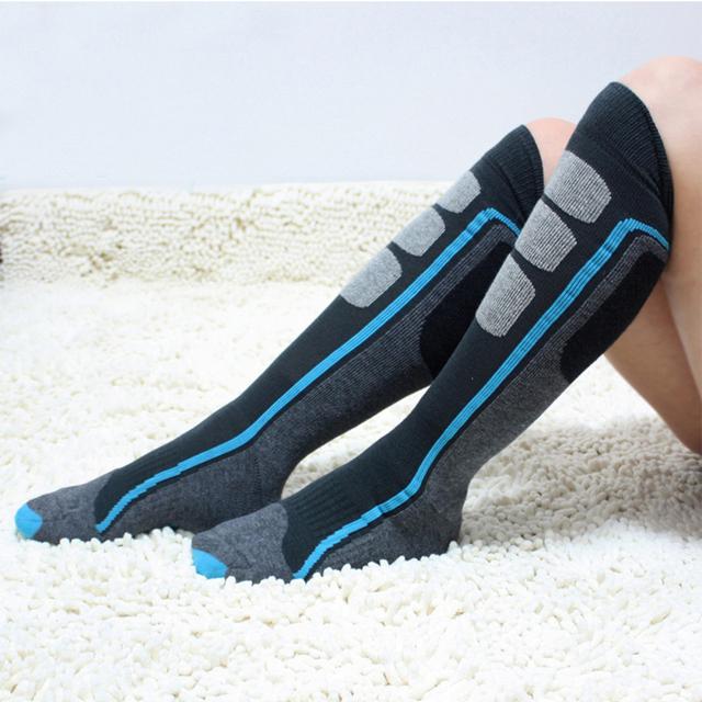 1 пара сша марка сжатия носки длинные сноуборд носки мужской тепловой толстые спортивные ...