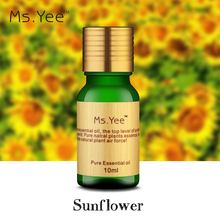 Pure Sunflower Seed Oil Cold Pressed for Efficacy Use on Hair Skin & Body Vitamin E Rich Great Essential Massage Oil Base 100ML(China (Mainland))