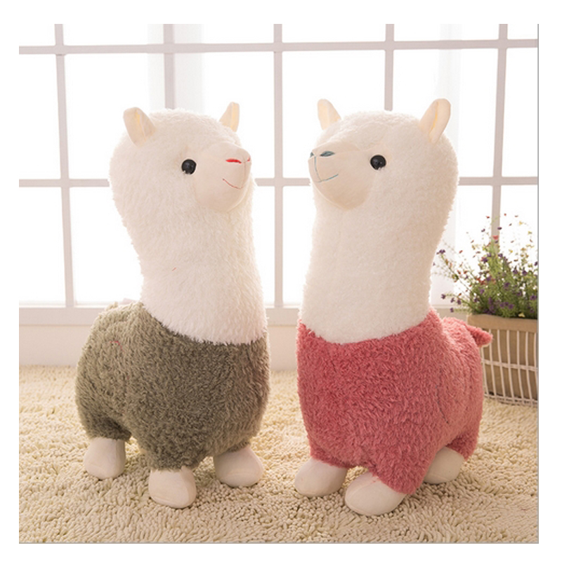 1pc New Lovely God Beast Alpaca Plush Dolls Children Toy Sheep Plush 35cm Doll For Children Gifts Hot Selling(China (Mainland))