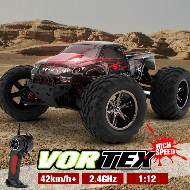 RC Car 9115 car 2.4G 1:12 1/12 Scale 40KM+ RC RTR Brushed Monster Truck Off-road Car<br><br>Aliexpress