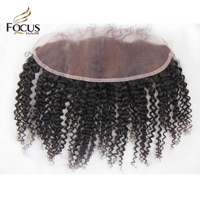 Гаджет  13x4 Brazilian Lace Frontal Closure With Baby Hair Kinky Curly Lace Frontal Swiss Full Lace Frontal Brazilian Curly Human Hair None Волосы и аксессуары