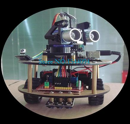 Intelligent car learning suite robot intelligent turtle wireless control based For ARDUINO(China (Mainland))