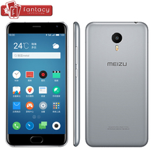 "Original Meizu Metal 4G LTE Mobile Phone Blue Charm Metal MTK Helio X10 5.5"" 1920X1080P 2GB RAM 16GB ROM 13MP Fingerprint ID GPS(China (Mainland))"
