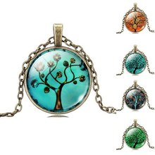 Cheap-fine Tree Necklace Antique Bronze Chain Necklace Choker Statement Fashion NEW BRAND Jewelry For Men Women