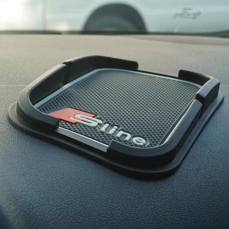 Super Sticky Pad Anti-slip Mat for Car Phone GPS Black AUDI Q5 Q7 A1 A3 A4 A5 A6 All Series Car Interior Accessories Car Styling(China (Mainland))